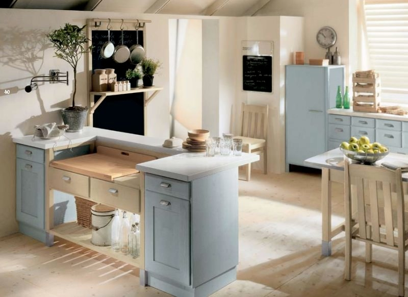 15 cottage kitchen designs decorating ideas design for Cottage kitchen designs