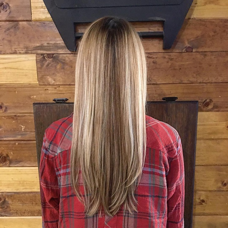 Two Toned Long Hairstyle Idea