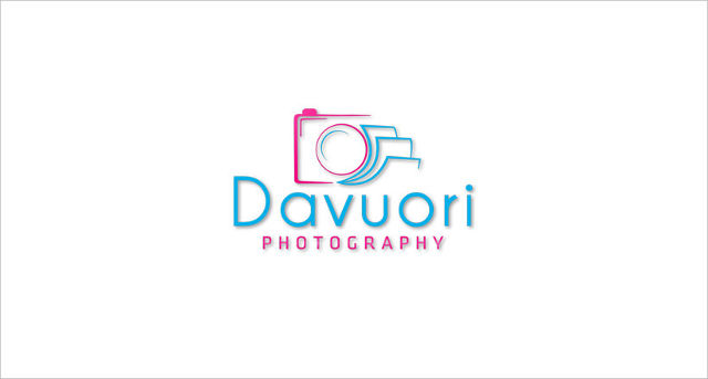 colorful davuori photography logo