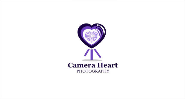 Camera Heart Logo