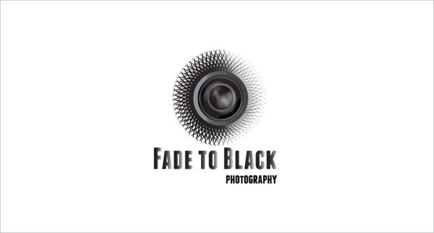 fade to black photography logo