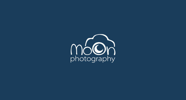moon photography logo