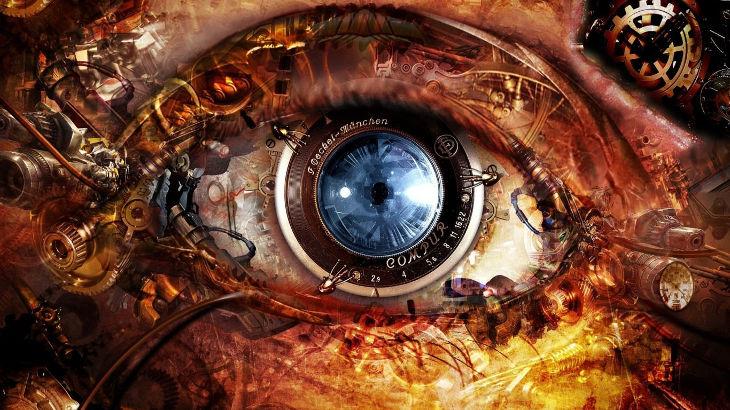 Steampunk Eye Wallpaper