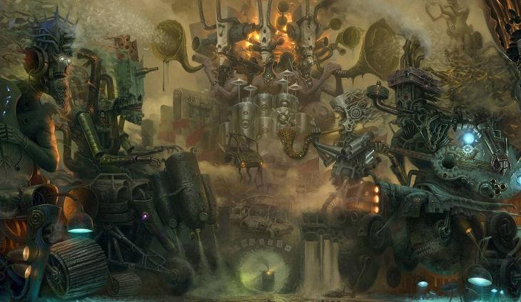 Steampunk Music World