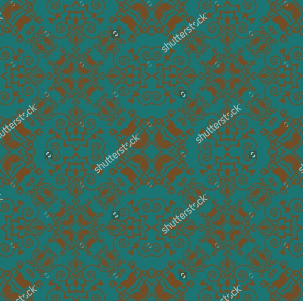 Ornate Background Seamless Pattern