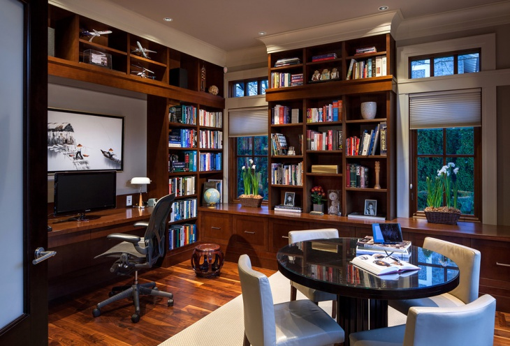 Classic Home Office Interior