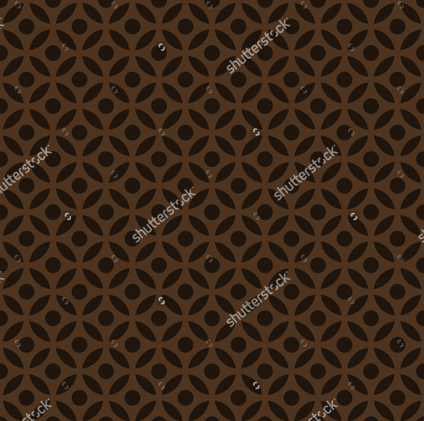 Chocolate Brown Pattern