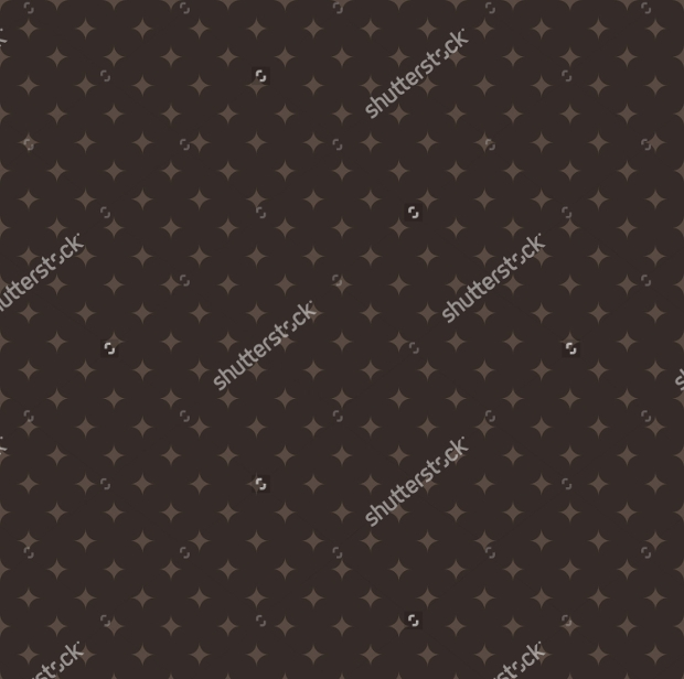 Diamonds on a Brown Pattern