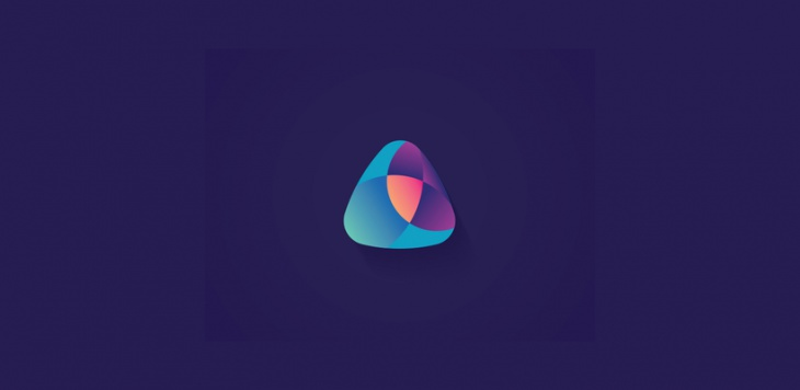 Blue Triangle Logo