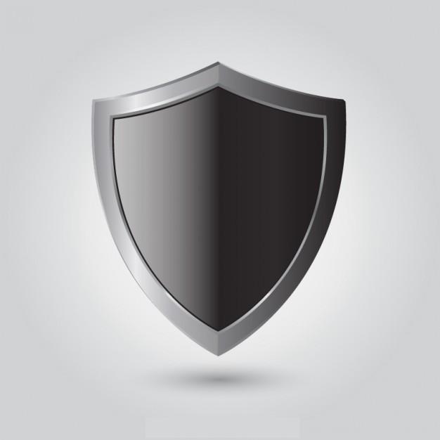 black shield vector1