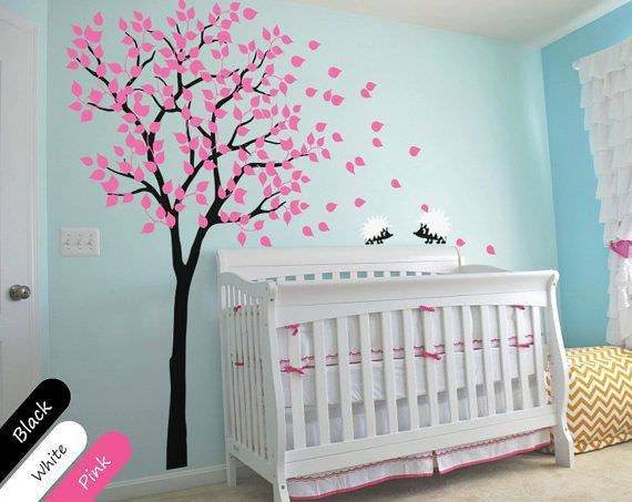 Mixed Wall Designs For Nursery