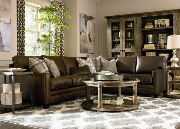 20 Leather Sofa Designs Ideas Plans Design Trends