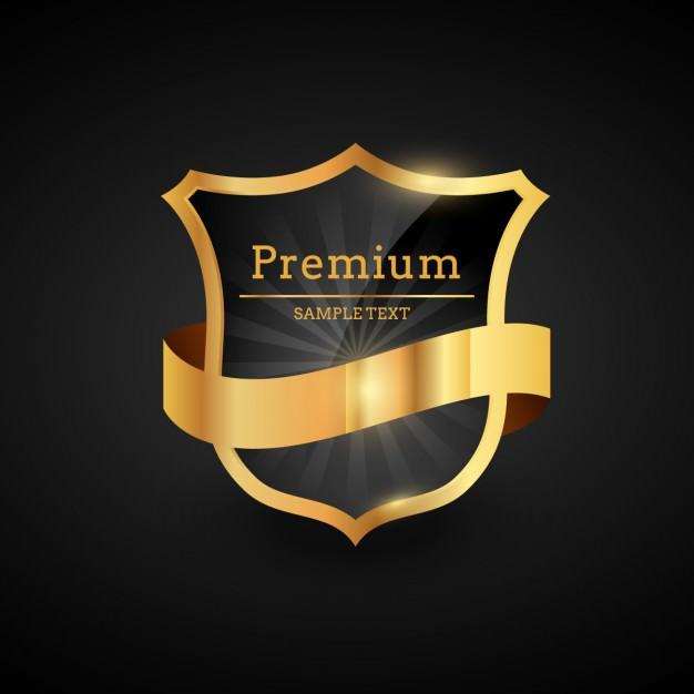 Luxury Golden Shield