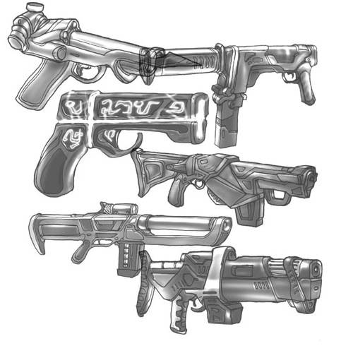 Guns Brushes