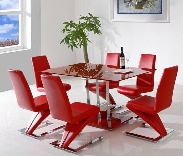 Best Red Dining Room Design