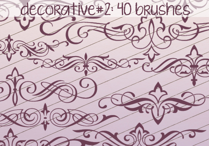 Decorative Swirls Brushes