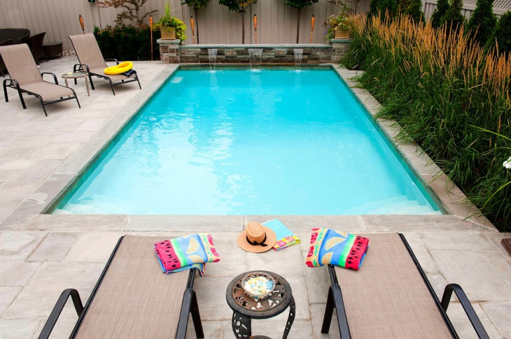 beautiful back pool design