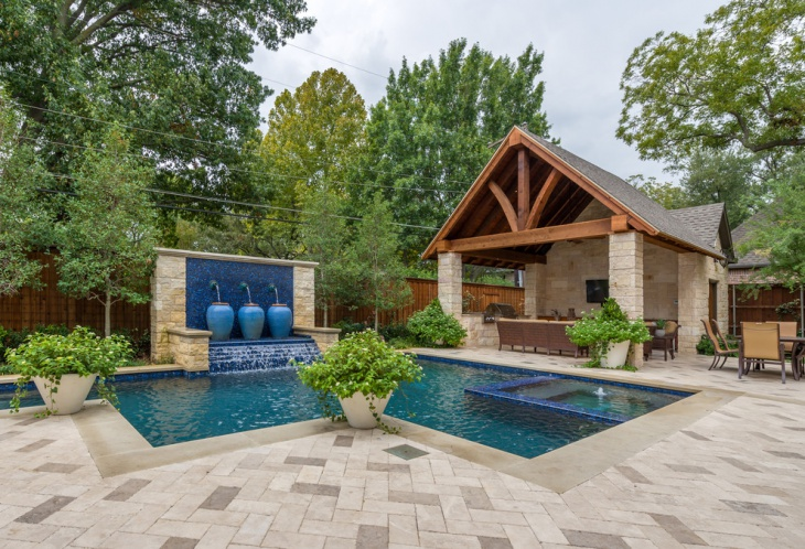 backyard pool landscaping ideas