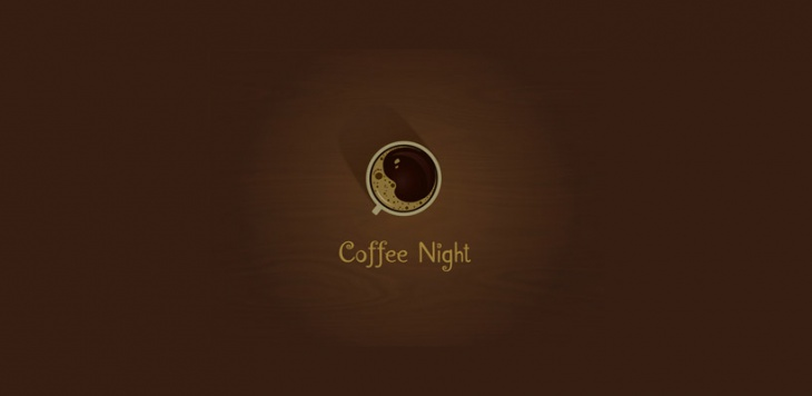 Coffee Night Logo Design