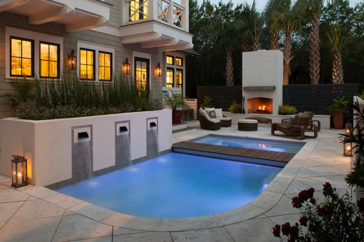 beach style pool design picture