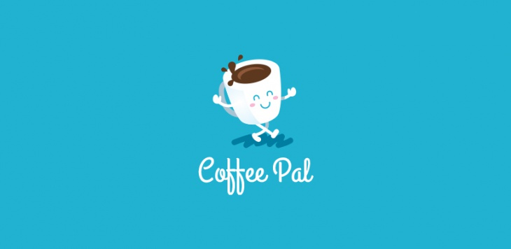 lovely coffee logo