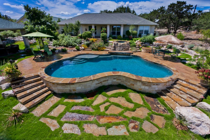 backyard above ground pool ideas