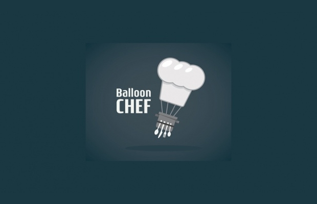 balloon chef logo design1