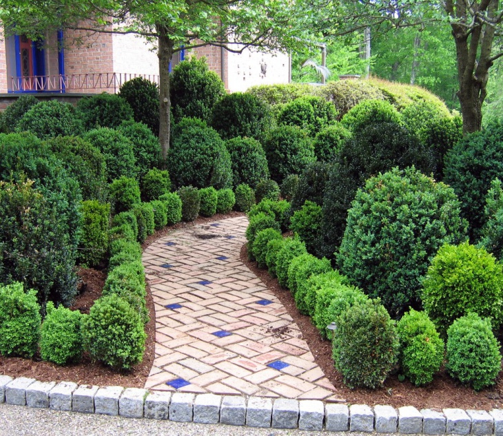 Garden Walkway Ideas 16 design ideas for beautiful garden paths Traditional Garden Walkway Idea