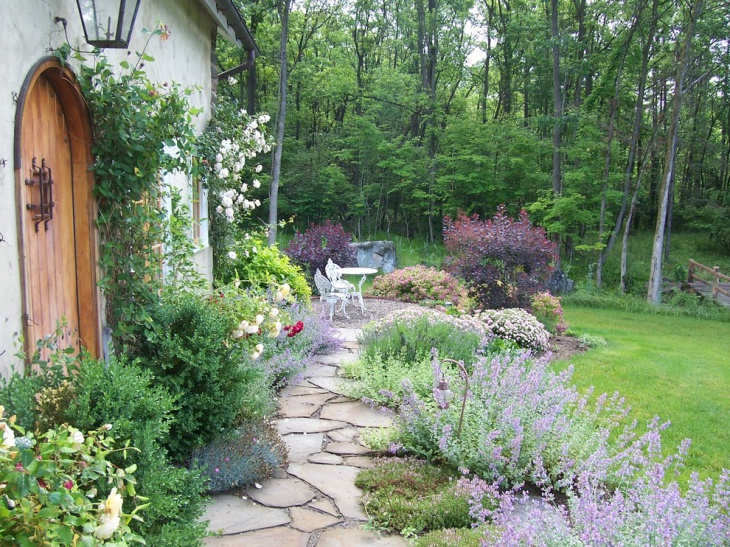 19 garden walkway designs decorating ideas design for Country garden designs landscaping