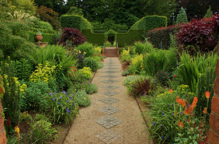 Unique Walkway For Garden