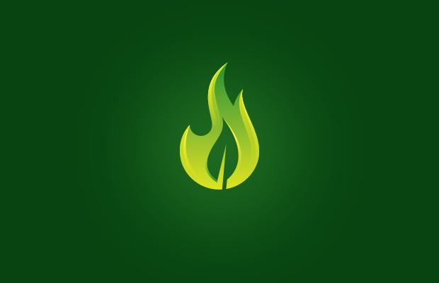 Flame Leaf Logo
