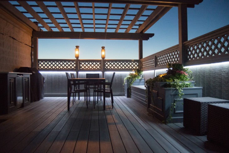 Elegant Roof Top Deck