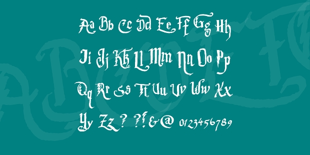 Harry Potter Font for New Style
