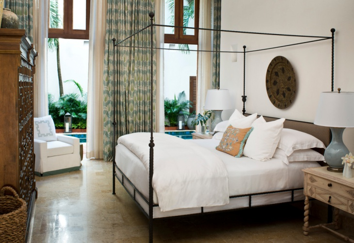 20 Metal Bed Designs Ideas Plans Design Trends