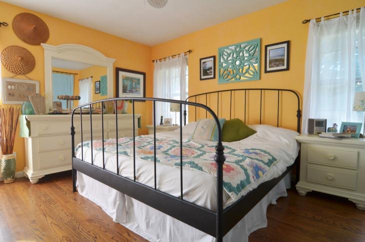 20 Metal Bed Designs Ideas Plans Design Trends