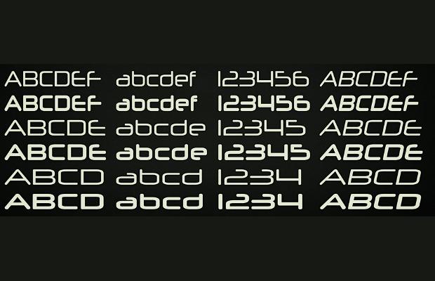 cool futuristic font