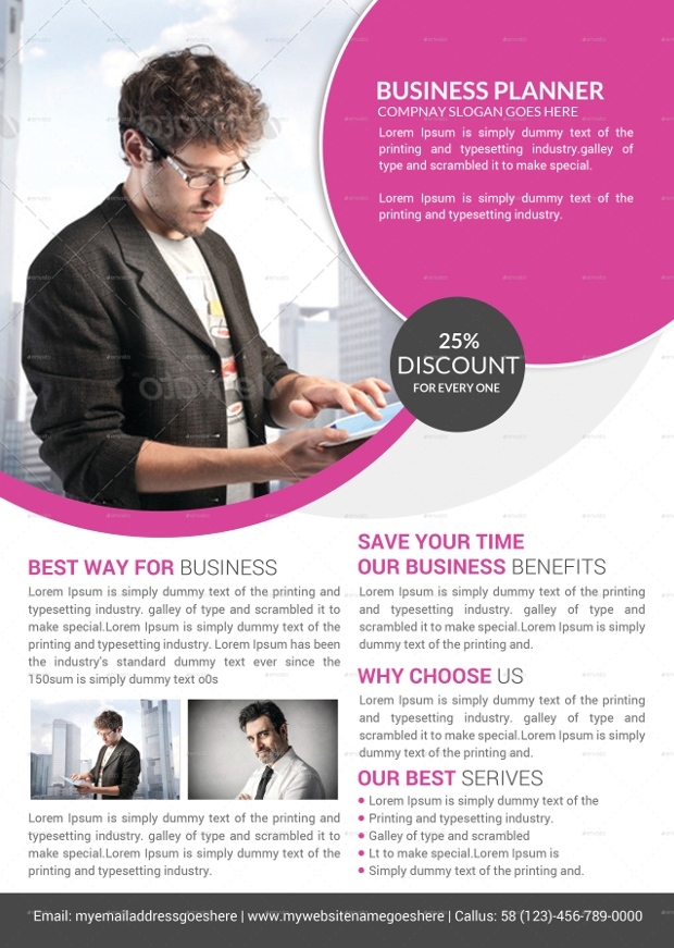 Creative Corporate Business Flyer Psd Template