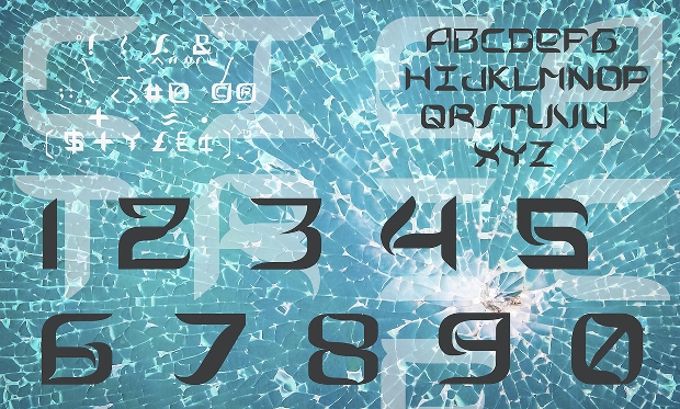 Modern Futuristic Font