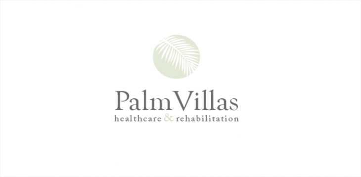 Palm Villas Logo Design
