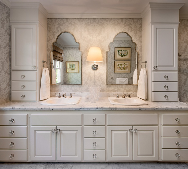 Bathroom Vanity With Towers