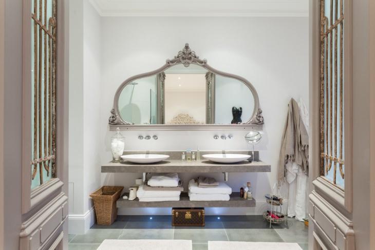 Ornate Mirror Frame Design Idea