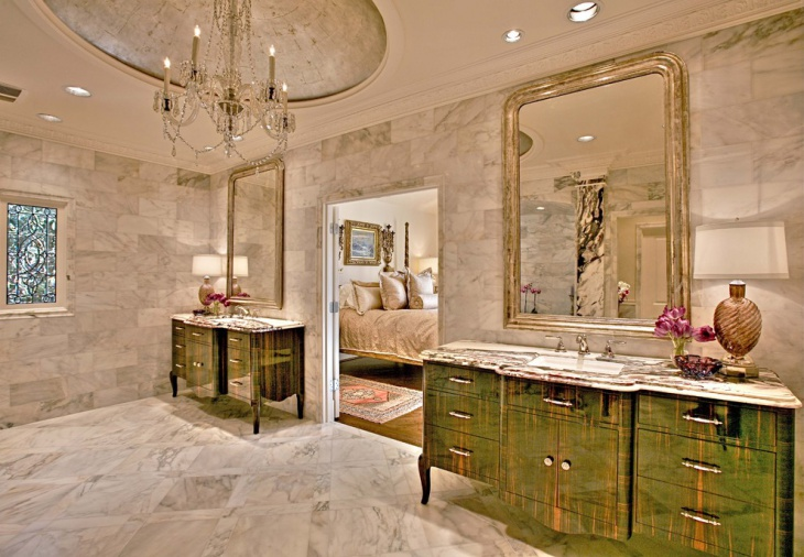 Italian Style Bathroom Mirror.