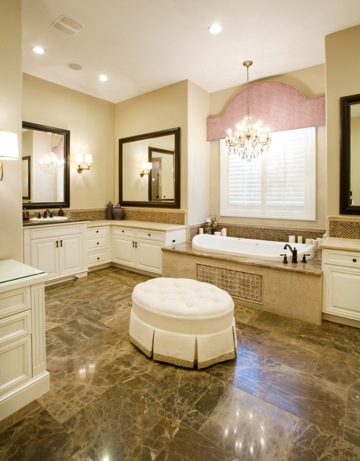 traditional bathroom chandeliers lighting