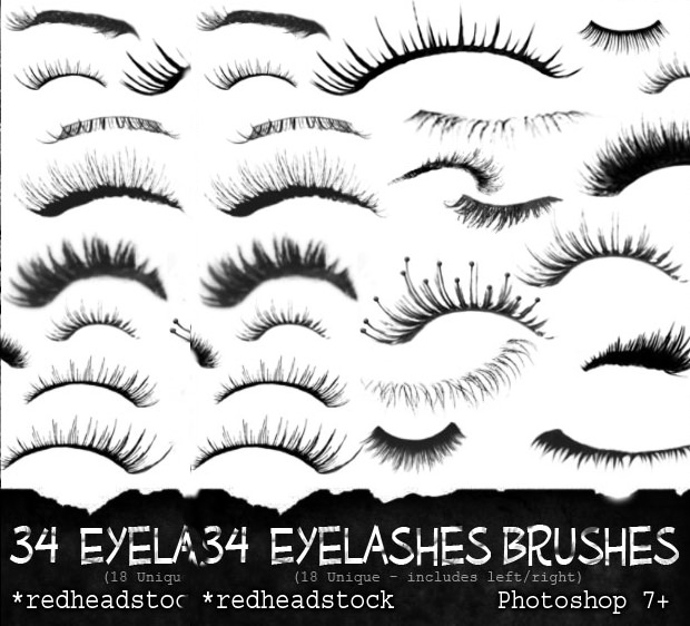 30 eyelash brushes download