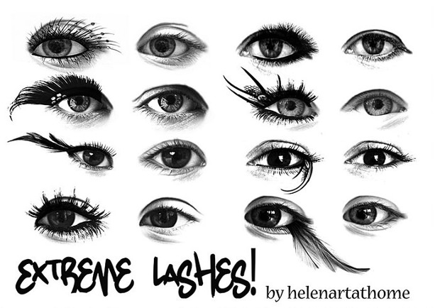 extreme eyelash brushes download