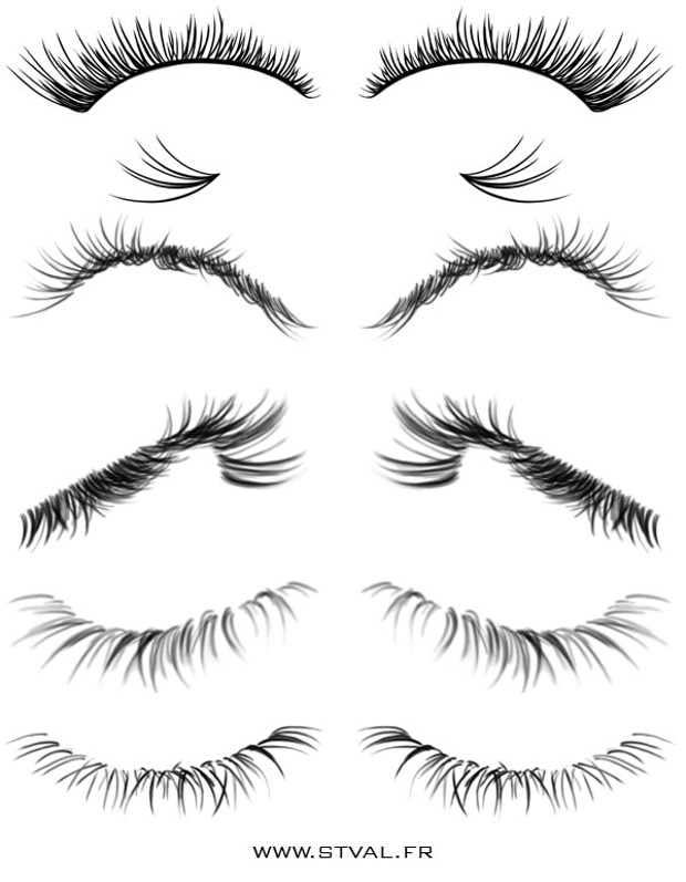 eyelash brushes download
