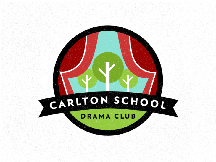 carlton school logo design