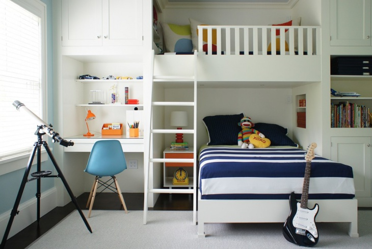baby boys bedroom interior