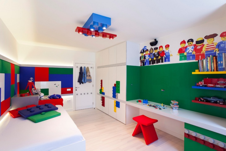 contemporary lego bedroom ideas