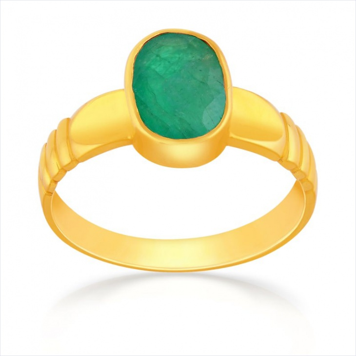 Green Stone Ring for Men